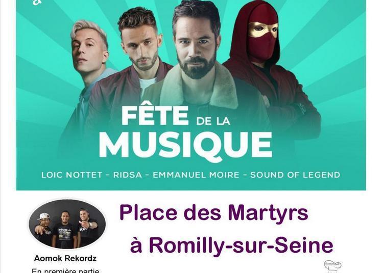 Fête de la musique à Romilly sur Seine