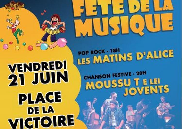 Fête de la Musique- Moussu T e Lei Jovents à Yssingeaux