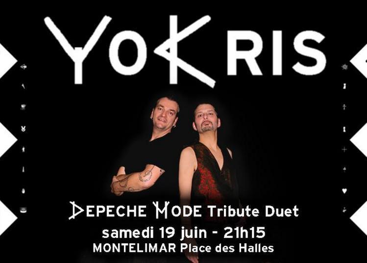 YoKris à la Fête de la Musique à Montelimar