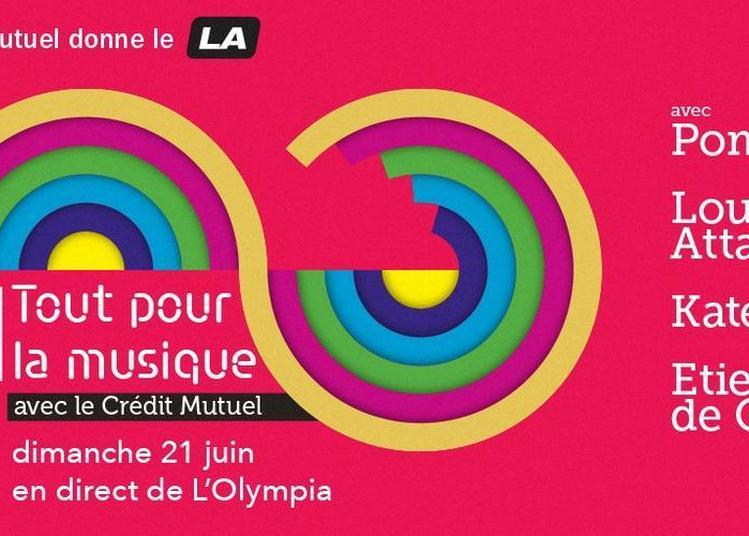 Fête de la musique à l'Olympia à Paris 9ème