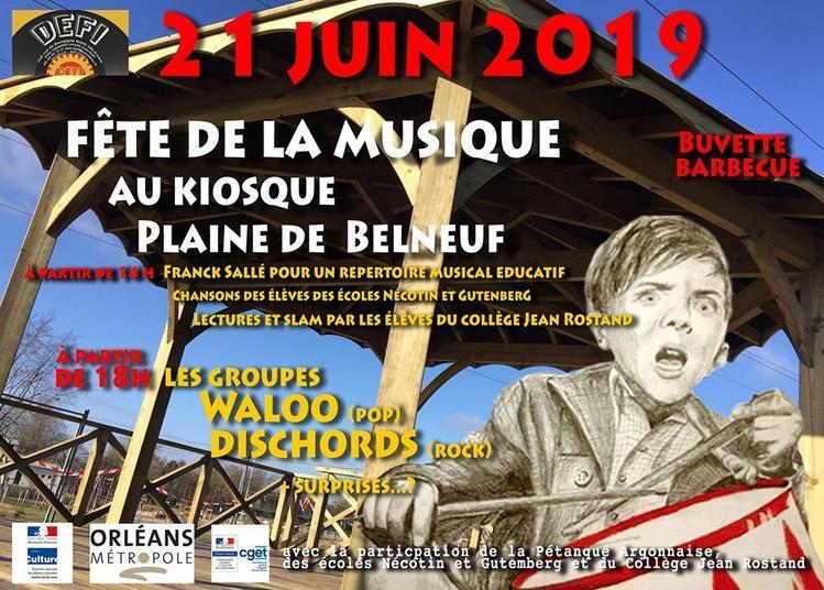 Fête de la Musique à Orléans, Plaine de Belneuf