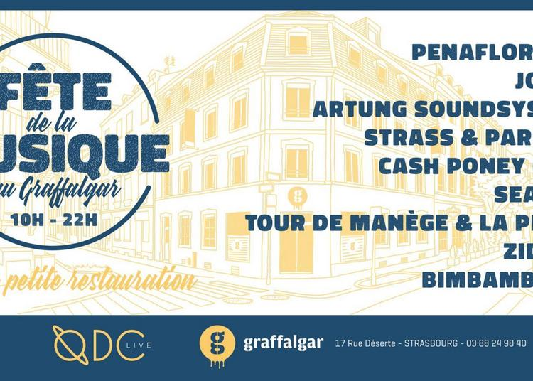 Fête de la musique au Graffalgar à Strasbourg