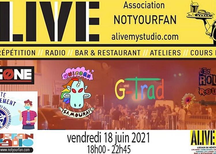 Fête de la Musique Jour 1 ALIVE My STUDIO à Vendargues