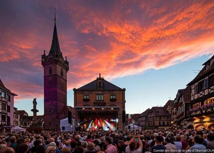 Fête de la musique -  Les rues de la commune à Obernai