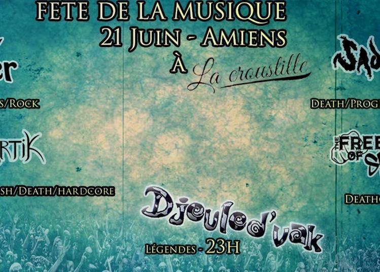 Fête de la musique - La Croustille à Amiens