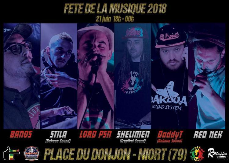 Fête de la musique reggae Niort 2018