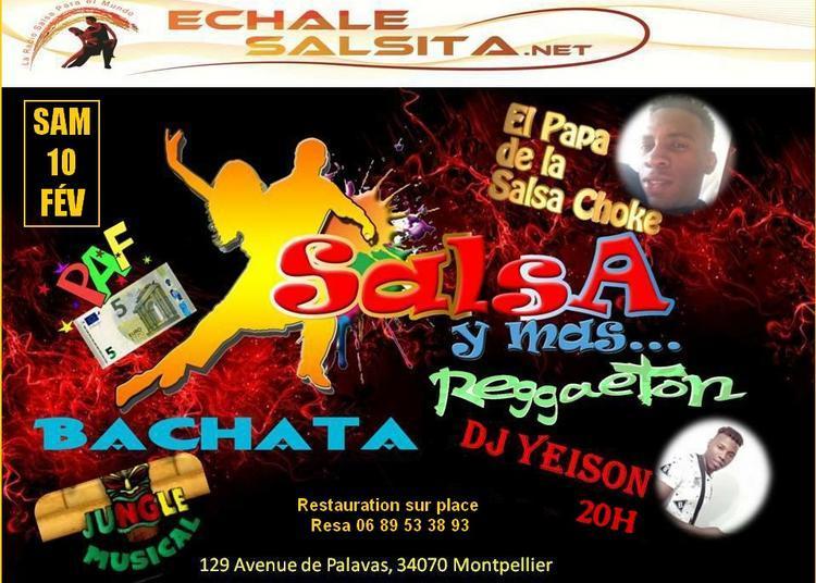 Fiesta Latina   Mix By Dj Echalesalsita   Démo Danse Salsa Choke à Montpellier