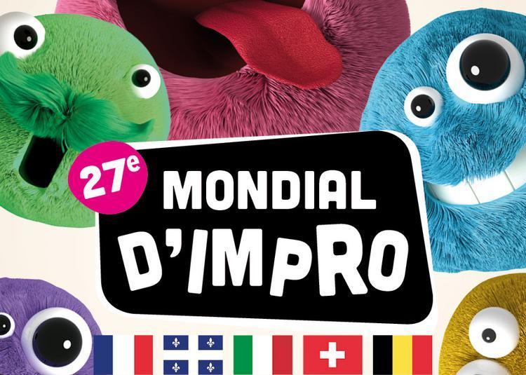 Finale du 27ème Mondial d'Impro à Illkirch Graffenstaden