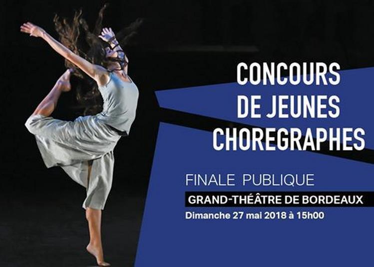 Finale publique du Concours de Jeunes Chorégraphes à Bordeaux
