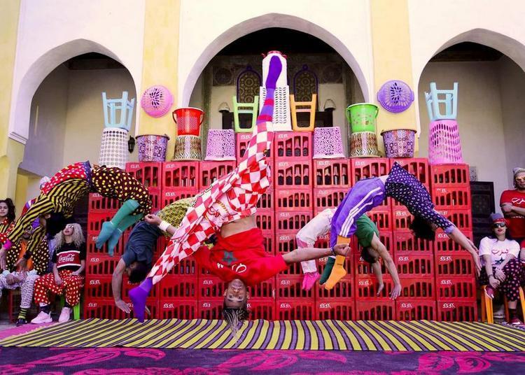 FIQ ! (Réveille toi !) | Groupe acrobatique de Tanger - Maroussia Diaz Verbeke à Sete