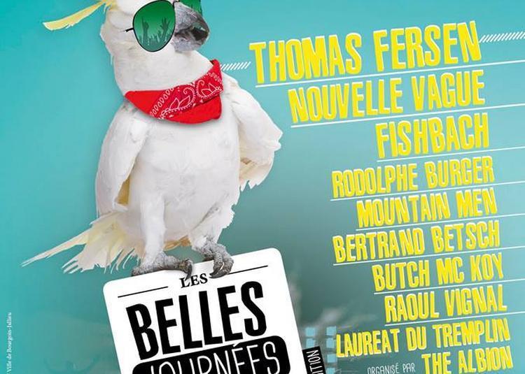 Fishbach, Rodolphe Burger, Thomas Fersen à Bourgoin Jallieu