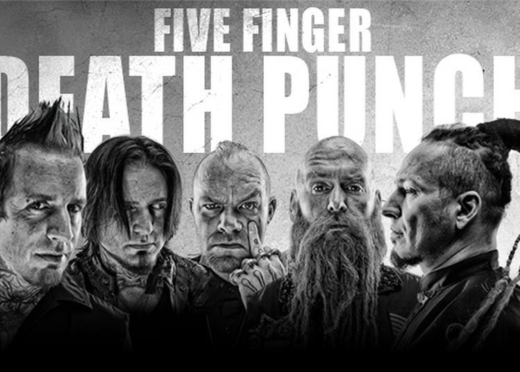 Package Five Finger Death Punch à Paris 9ème