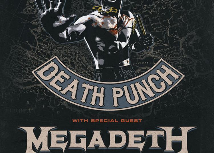 Five Finger Death Punch à Paris 19ème