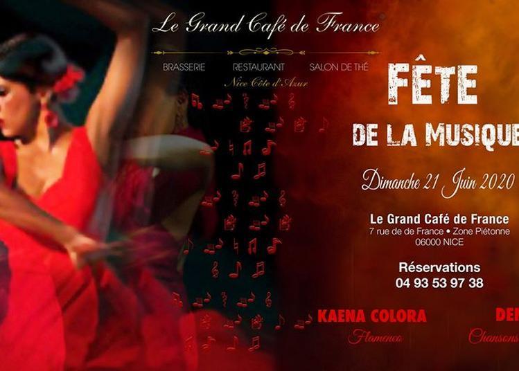 Flamenco Guitare avec Latino Kaena Colora Flamenco à Nice