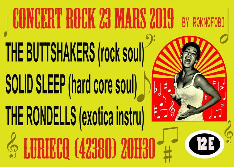 The Buttshakers, Solid Sleep et The Rondells à Luriecq