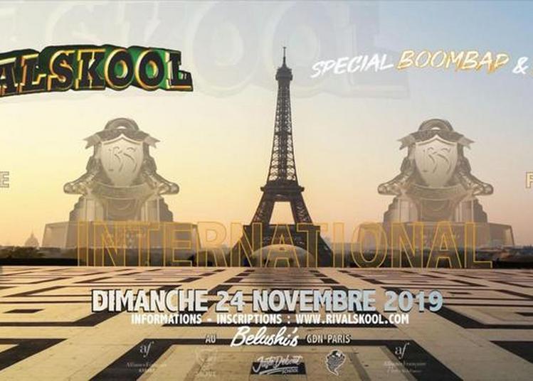 Ultimate Battle Rivalskool 2019 à Paris 10ème