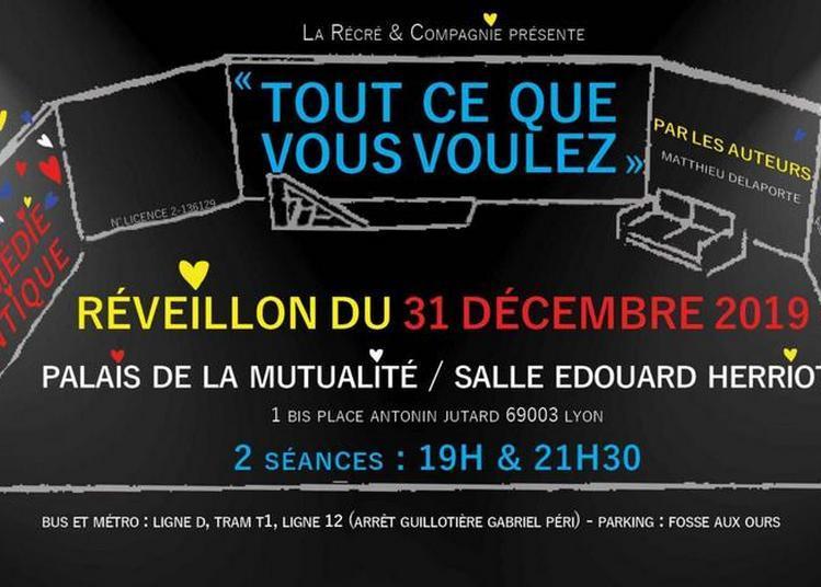 Réveillon 31 décembre 2019 au palais de la mutualité à Lyon !