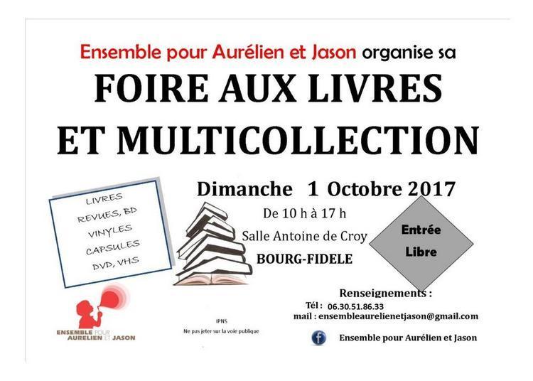 Foire aux Livres et multi collection à Bourg Fidele