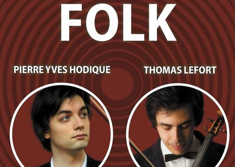 Folk - Pierre-Yves Hodique Et Thomas Lefort à Paris 10ème