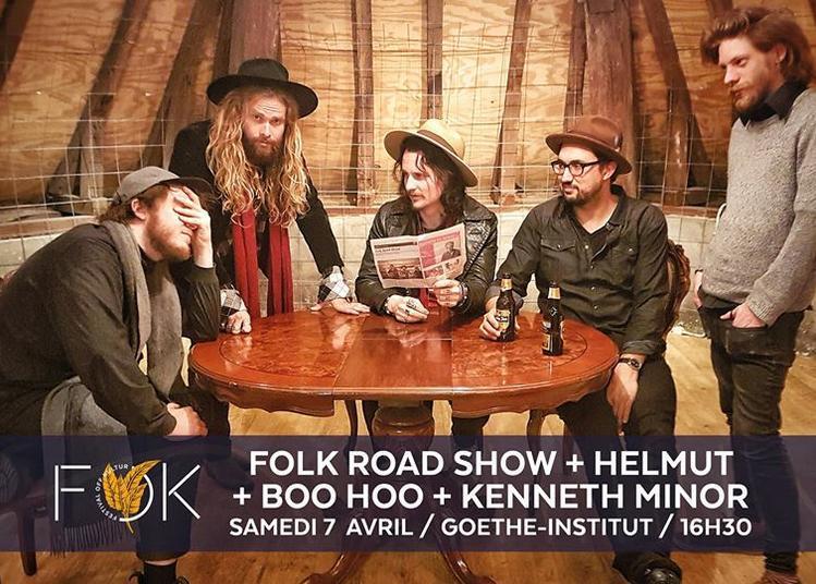 FOK #2 : Folk Road Show, Helmut, Boo Hoo et Kenneth Minor à Nancy