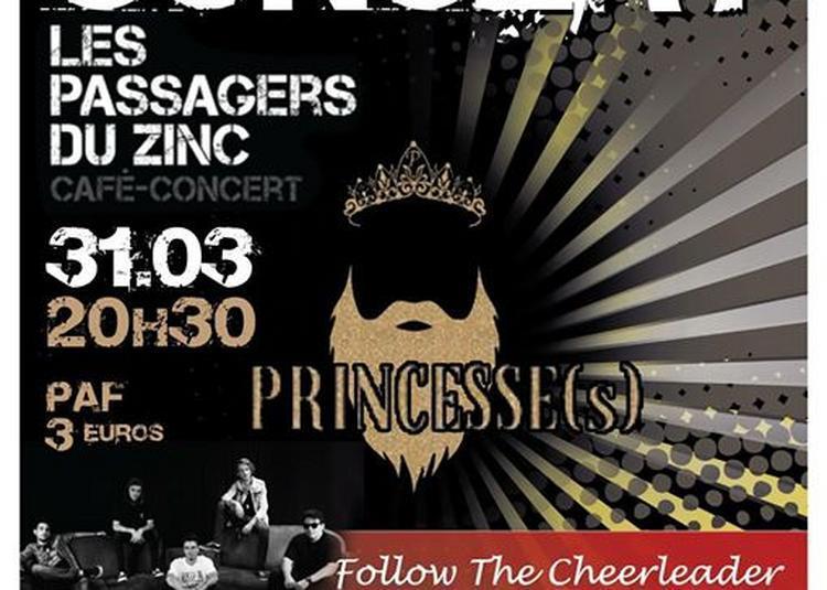 Follow The Cheerleader & Princesse - Concert De Prévention à Besancon