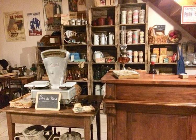 Fonvérines Autrefois : Aperçu Du Château Et Visite D'un Bistrot-épicerie Des Années 40 à Azay le Brule