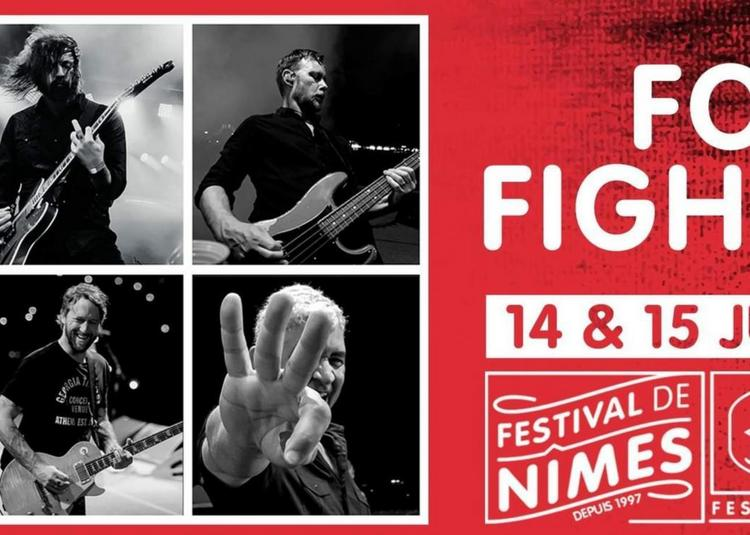 Foo Fighters à Nimes