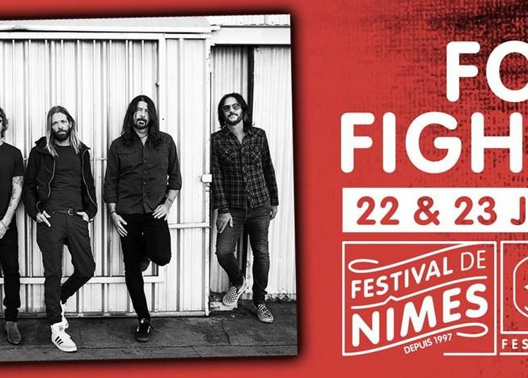 Foo Fighters - Report à Nimes