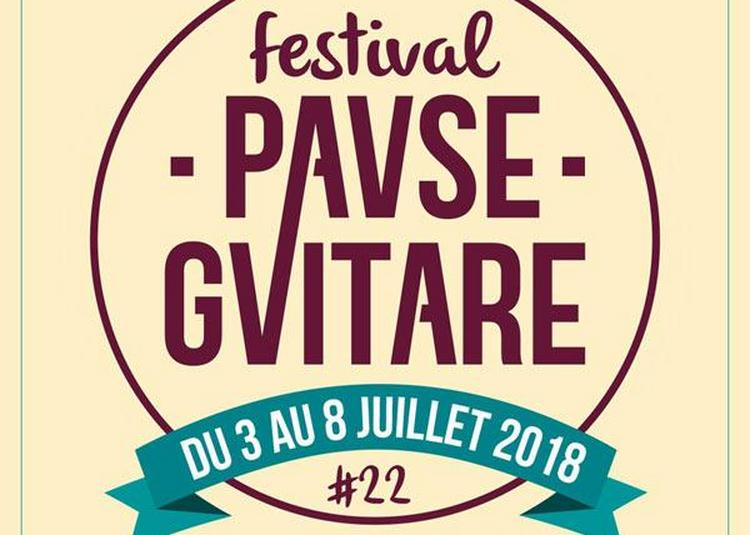 Forfait 3j Pause Guitare 2018-J-V-S à Albi
