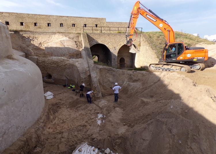 Fouille Archéologique à Calais