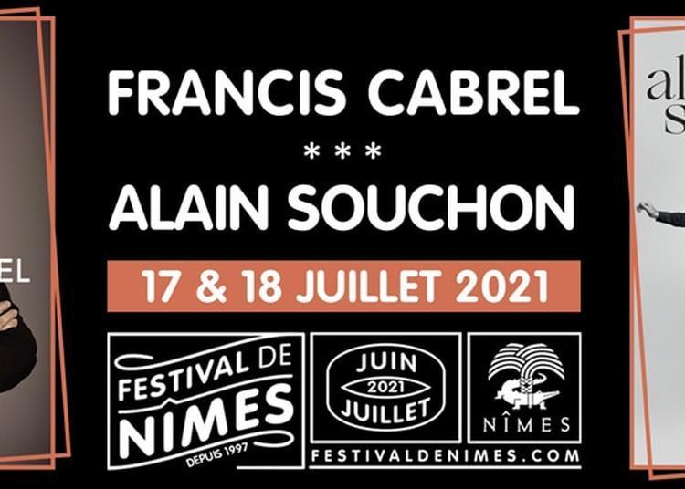 Francis Cabrel et Alain Souchon - Report à Nimes