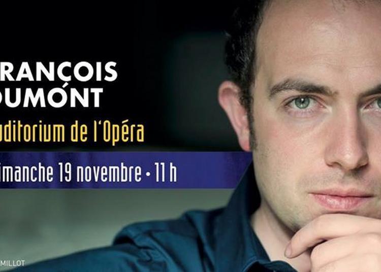 François Dumont Recital à Bordeaux