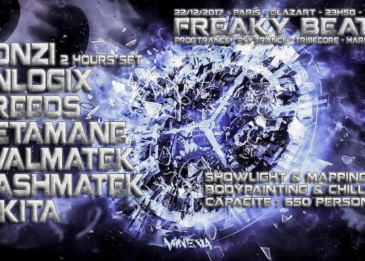 Freaky Beats #8 W/ Gonzi / Unlogix / Creeds & More à Paris 19ème