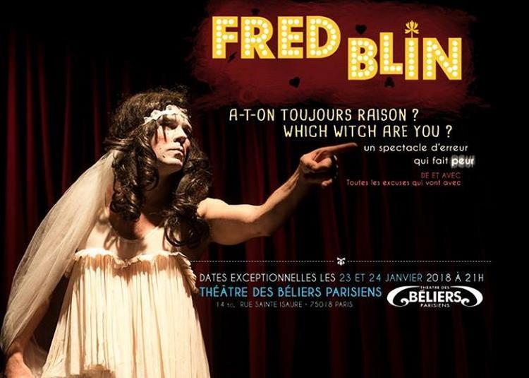 Fred Blin Des Chiche Capon à Paris 18ème