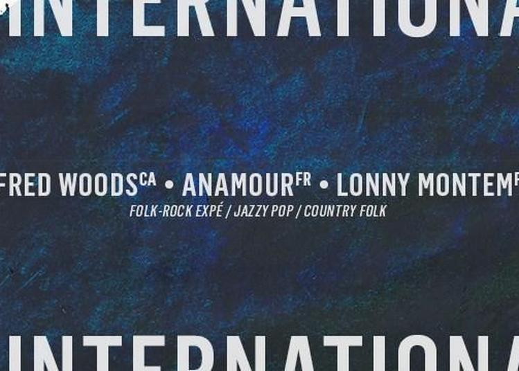 Fred Woods - Anamour - Lonny Montem à Paris 11ème