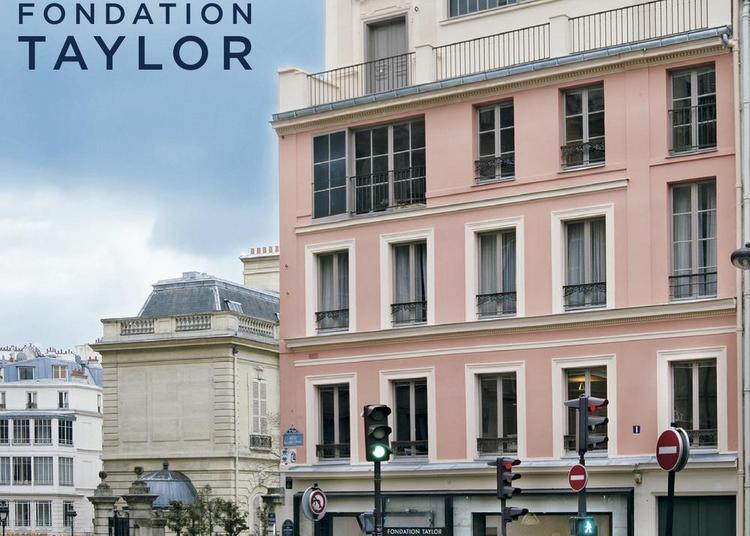 Frédéric Blaimont, Eloïse de Susanne et Brigitte Pazot à la Fondation Taylor à Paris 9ème