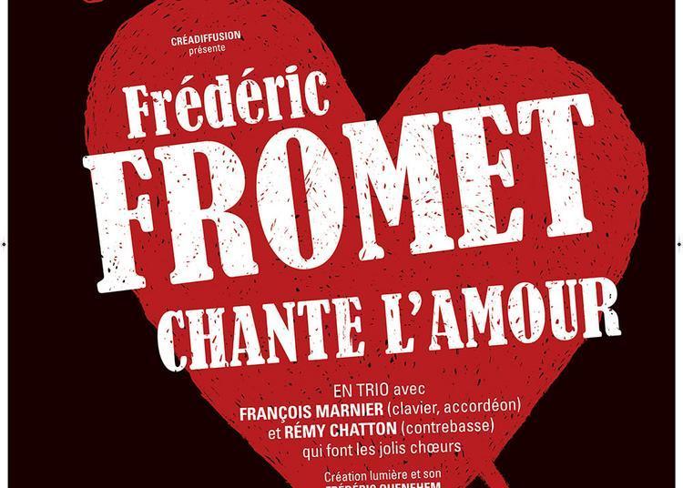 Frédéric Fromet chante l'amour à Lyon