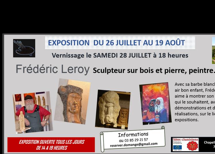 Frédéric Leroy sculpteur à Ige