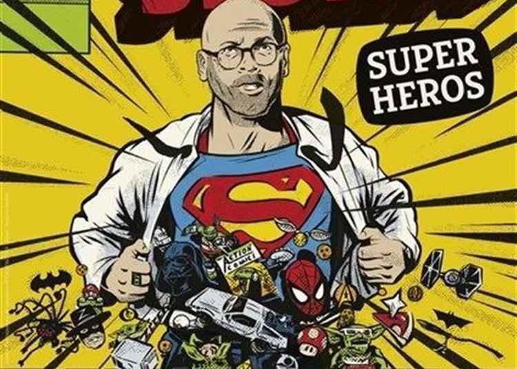 Frédérick Sigrist Dans Super Héros à Antibes