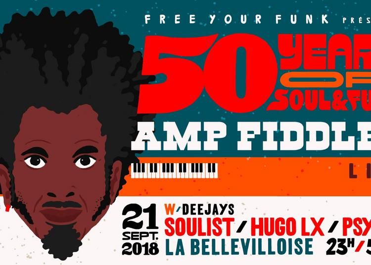 Free Your Funk : 50 Years Of Soul & Funk W/ Soulist, Hugo Lx, Psycut à Paris 20ème