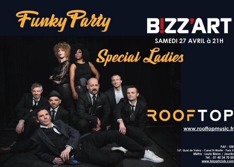 Funky Party w/ Rooftop Special Ladies à Paris 10ème
