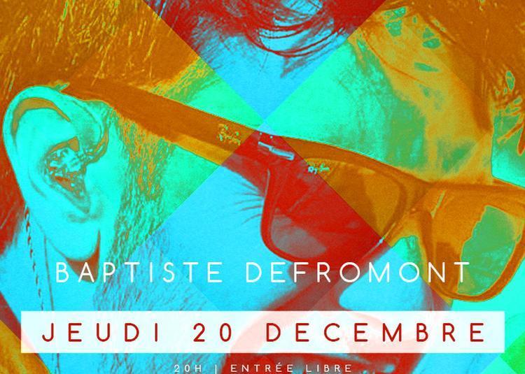 Fusion // Baptiste Defromont à Paris 1er