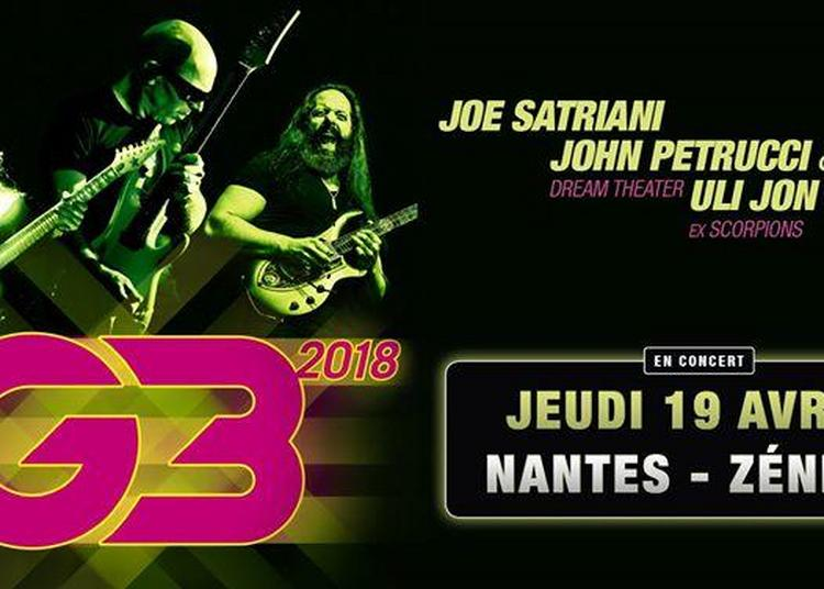 G3 - Joe Satriani - John Petrucci - Uli Jon Roth à Saint Herblain