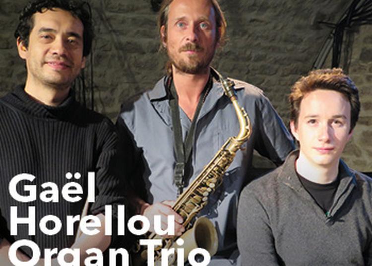 Gaël Horellou Organ Trio à Paris 1er