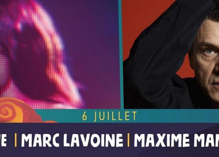 Zazie, Marc Lavoine et Maxime Manot' à Saint Malo du Bois