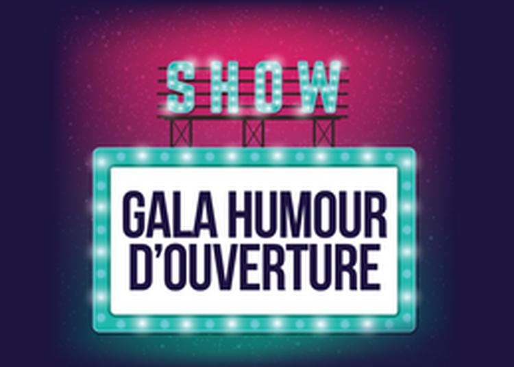 Gala humour d'ouverture à Bernex