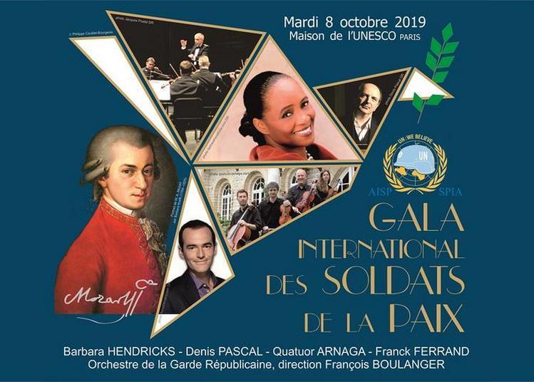 Gala International des Soldats de la Paix à Paris 7ème