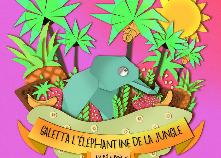 Galetta, l'éléphantine de la jungle à Muret