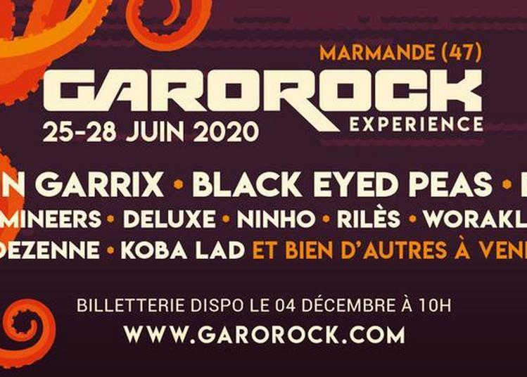Garorock 2020 Pass 4 Jours à Marmande
