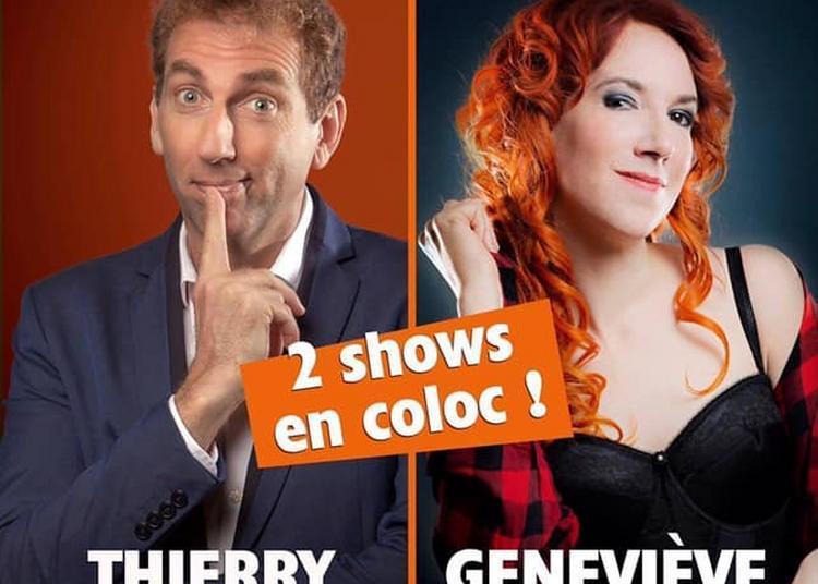 Geneviève Morissette & Thierry Garcia - 2 shows en coloc à Paris 9ème